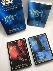 Decipher Star Wars Young Jedi CCG The Jedi Council Starter Deck Opened Unplayed