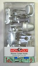 12 Decorative Monopoly Shower Curtain Hooks 2004
