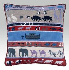EHRMAN needlepoint tapestry kit NOAHS ARK vintage retired Catherine Reurs