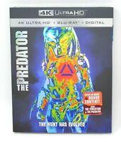 The Predator (4K UHD + Blu-ray + Digital) W/Slipcover - New - Sealed