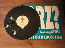 """QRZ Feat Stepz - Fast Fish And Loose Fish 12"""" vinyl"""