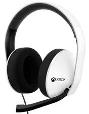 Xbox One Official Wired Stereo Headset - White, includes control adapter