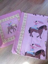 Biber Bettwäsche Biberbettwäsche 135 x 200 & 80 x 80 Mädchen Pferd