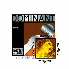 "^ Dominant Violin String set 4/4 with "" Evah Pirazzi GOLD "" Steel  E Loop"