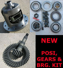 "GM Chevy 8.2"" 10-Bolt Yukon Dura-Grip Posi Gears Bearing Package - 3.73 NEW"