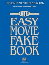 The Easy Movie Fake Book Sheet Music 100 Songs in the Key of C Easy Fa 000240295