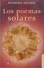 NEW Los poemas solares (Spanish Edition) by Aridjis Homero