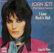 """Joan JETT - I love Rock'n Roll  / Gute NEUWARE, new 1982er  Vinyl 7 """" - Single !"""