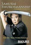SAMURAI SWORDSMANSHIP - VOL. 1: BASIC PROGRAM DVD~NEW & SEALED