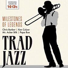 Trad Jazz  Milestones Of Legends [CD]