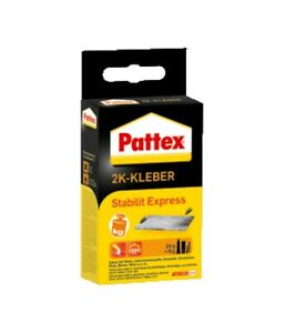 Pattex Stabilit Express 80g 2K Kleber ABS Acryl Polystyrol Keramik (2,79€ - 10g)