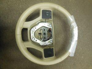 New 2006 2007 Ford Explorer Steering Wheel Tan 6L24
