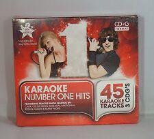Cantar al mundo Karaoke-número 1 éxitos 3 Disco Box Set Cd + gráficos