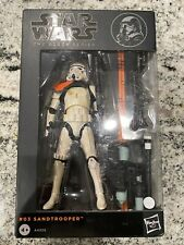 "Star Wars Black Series 6"" Sandtrooper #3 Orange Line."