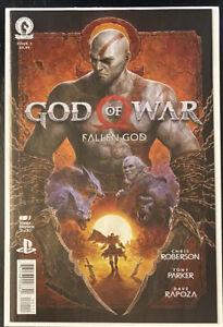 GOD OF WAR: FALLEN GOD #1 Dark Horse Comics 2021 PLAYSTATION! 1ST PRINT Comic