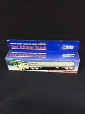 Mobil Oil Toy Tanker Truck 1993 Limited Edition Collectors Series Serialized NOS