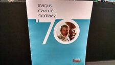 1970 Mercury Marquis Marauder X-100 Monterey DELUXE sales brochure  MBX8
