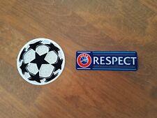 Kit Patch Badges officiels ligue des champions 2022 PSG CITY CHELSEA REAL BARCA