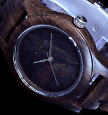 Damenuhr Armbanduhr Holzuhr Sandelholz Gliederarmband 1800156 Wood Excellanc