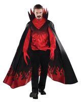 Adult Demon Devil Diablo Mens Halloween Horror Fancy Dress Costume Party Outfit