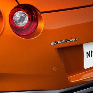 Car Side Front Trunk Lettering Emblem Logo Point Badge for NISSAN All Car