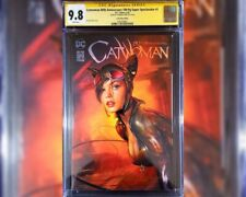 🔥 Catwoman 80th Anniversary Special 1 CGC SS 9.8 GOLD SIGNATURE BY Shannon Maer