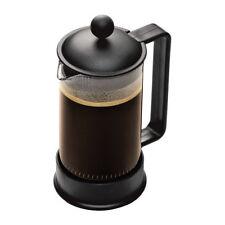 Bodum Brazil French Press Coffee Maker, 12 Ounce.35 Liter, (3 Cup), Black