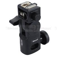 Hot Shoe Mount Flash Bracket/Umbrella Holder for Canon Nikon Pentax Speedlight