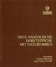 BOOK - Neue Anatolische Dorfteppiche Mit Naturfarben New Anatolian Village Rugs