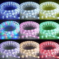 LED Rope Lights Outdoor Chasing Static LED Strip Light Christmas Xmas Lighting