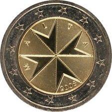 Pièces euro de Malte Année 2008