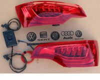 Audi Q7 4L Facelift LED Taillights Rear Lights + Adapter Control Unit Genuine