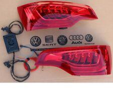 Audi Q7 4L Facelift LED Taillights Rear Lights + Adapter Control Unit Genuine