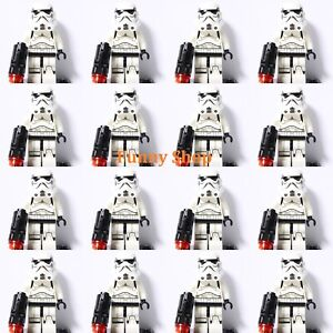 New 16Pcs Star Wars Stormtrooper Legs Fit Lego blocks Building Toys Minifigures