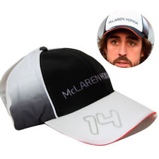 NEW FERNANDO ALONSO #14 SIGNED BASEBALL CAP F1 MCLAREN FORMULA ONE 1 RACING HAT