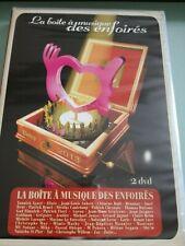 LA BOITE A MUSIQUE DES ENFOIRES - 2 DVD 2013 - Neuf sous cellophane.
