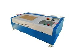 40W CO2 Laser Engraving Cutting Machine/Laser Engraver cutter/up down platform