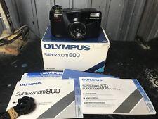 Macchina Fotografia Vintage 38mm Modernariato 35mm Olympus Superzoom 800