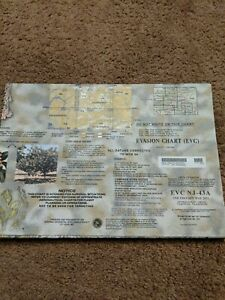 US ARMY ESCAPE EVASION CHART MAP EVC NJ-43A. 2nd edition, 2011