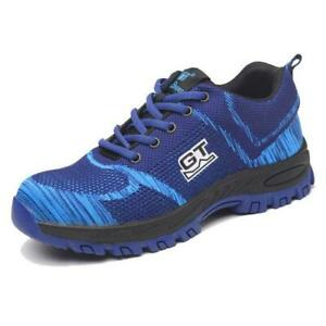 UK Mens Steel Toe Cap Safety Protective Shoes Lightweight Trainers Boots Work