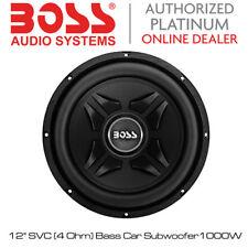 "BOSS Audio Chaos Exxtreme-CXX12 - 12"" SVC (4 OHM) BASS SUBWOOFER AUTO 1000 WATT"