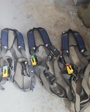 ( 3 )DBI SALA EXOFIT NEX Construction Safety Harness Trauma Straps  MD LG XL