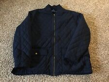 Polo Ralph Lauren Quilted Safari Hunting Shooting Shirt Jacket Mens XL