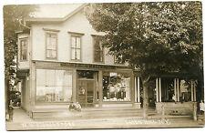 RPPC NY Union Hill Post Office WH Stokes Store Wayne Co