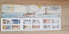 Carnet de 12 timbres Lettre prioritaire.bc 1753 , les repères de nos côtes  2019