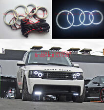 4pcs SMD 7000K Angel Eyes kit For Land Rover Range Rover L322 Sport 2002 - 2009