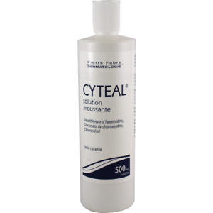 Pierre Fabre Cyteal antiseptic foaming solution 500ml (17oz) Exp: 10/2022