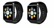 2 Black Bluetooth Smart Watch GT08 Smartwatch Watch Camera