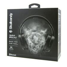 Skullcandy Crusher Bluetooth Wireless Over-Ear Headphone & Microphone - Black