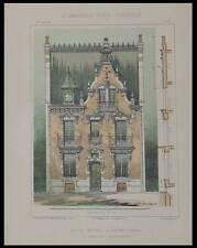 VICHY, VILLA VAN DYCK - 1903 - PLANCHES ARCHITECTURE - PERCILLY